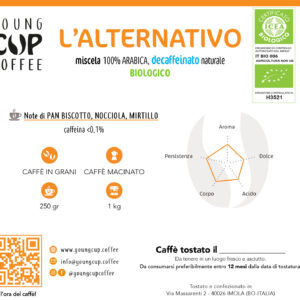 L'alternativo DECA Bio 100% Arabica