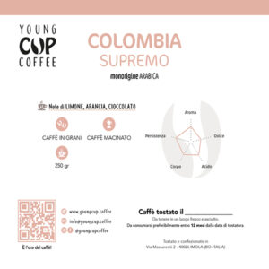 Colombia Supremo 100% Arabica
